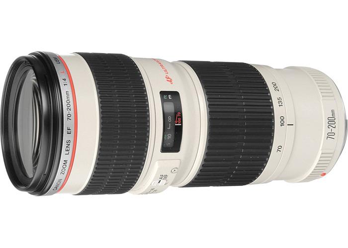 Canon EF 70-200 mm f/4.0 L USM Lens - 1