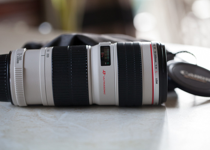 Canon EF 70-200mm  f4 L - 1