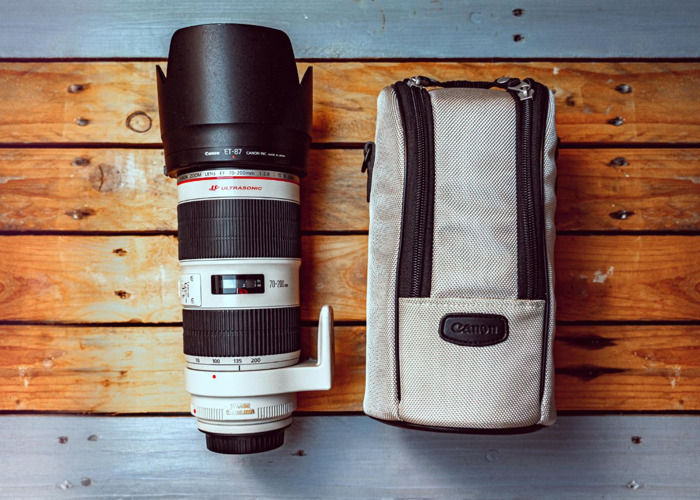 Canon EF 70-200mm 2.8 IS II - 1