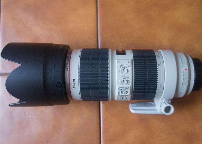 Canon EF 70-200mm f/2.8 II - 1