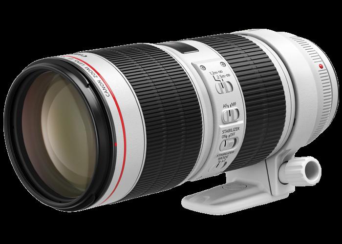 Canon EF 70-200mm f/2.8 IS II USM Lens - 1