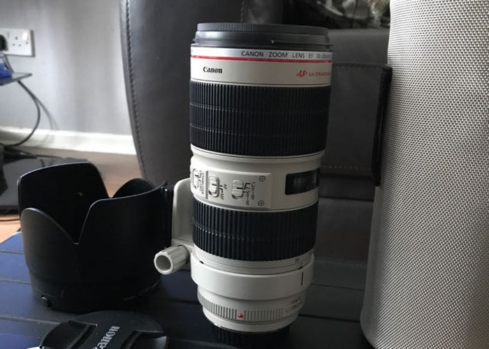 Canon ef 70-200mm f2.8 IS II usm L - 1
