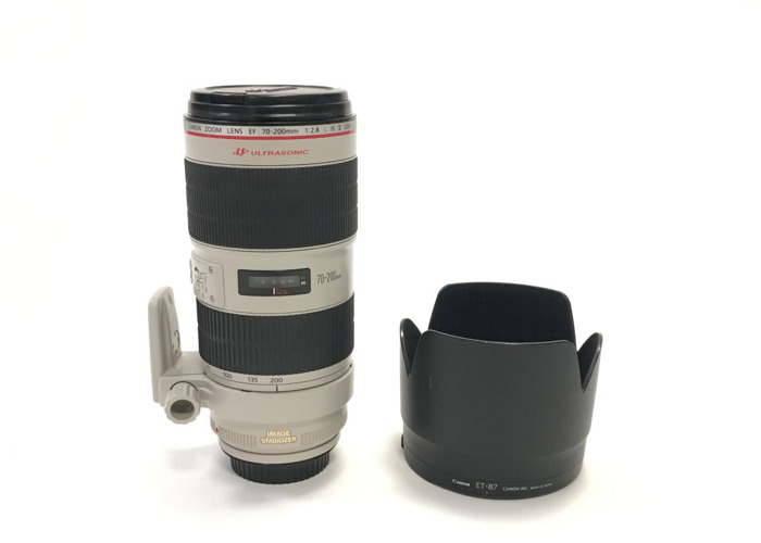 Canon EF 70-200mm f/2.8L Lens - 1