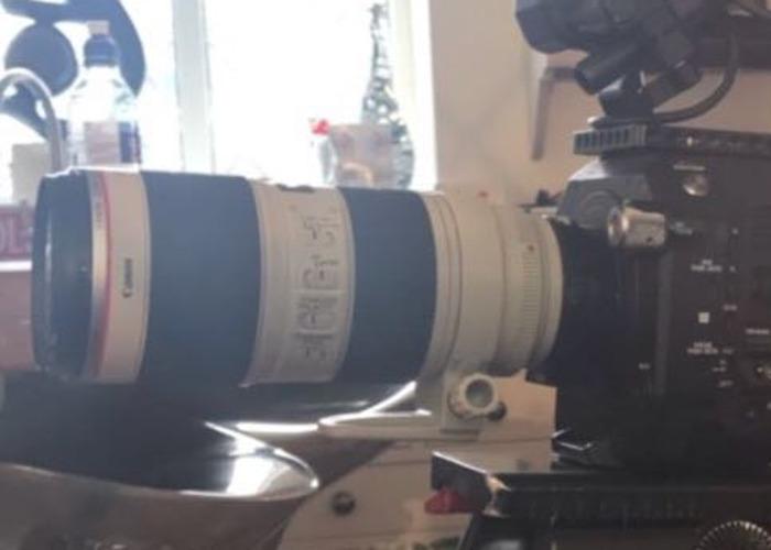 Canon EF 70-200mm f2.8 L IS II USM Lens - 1