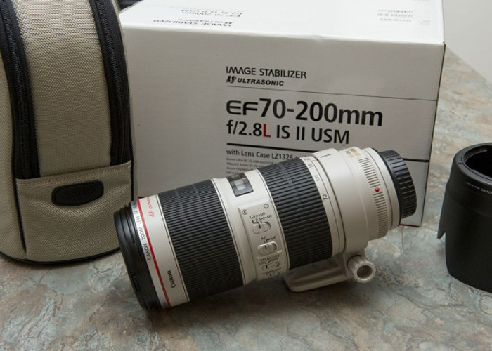 Canon EF 70-200mm f/2.8 L IS USM Lens - 1