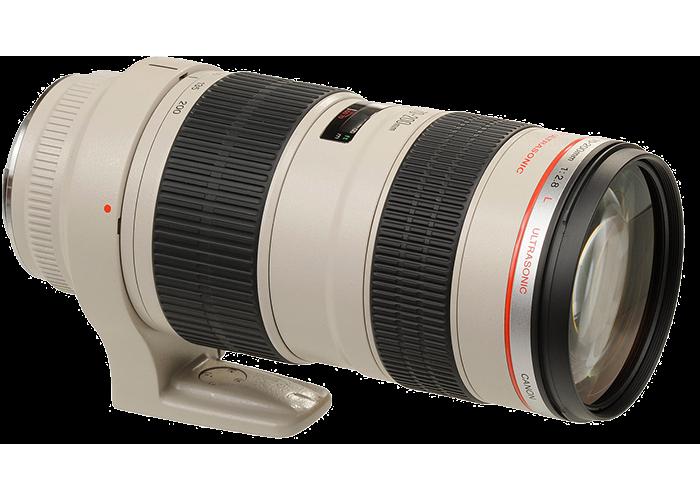 Canon EF 70-200mm f2.8L USM Lens - 1