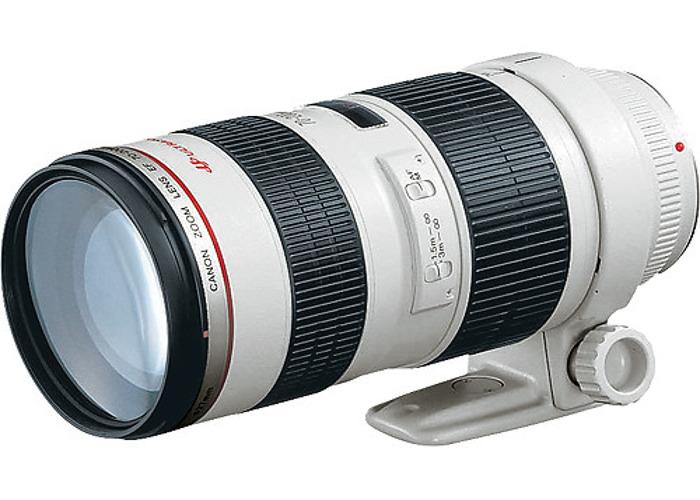 Canon EF 70-200mm f/2.8L USM Telephoto Zoom Lens - 1