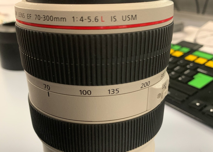 Canon EF 70-300 f/4-5.6L IS USM Zoom Lens - 1