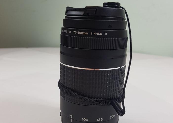 Canon EF 75-300mm f/4.0-5.6 III Lens - 1