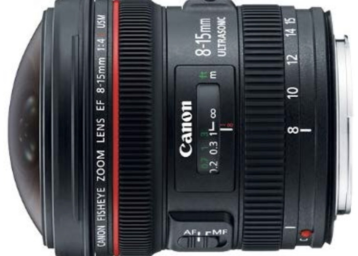 Canon EF 8-15mm f/4L Fisheye USM Ultra-Wide Zoom Lens for Ca - 1