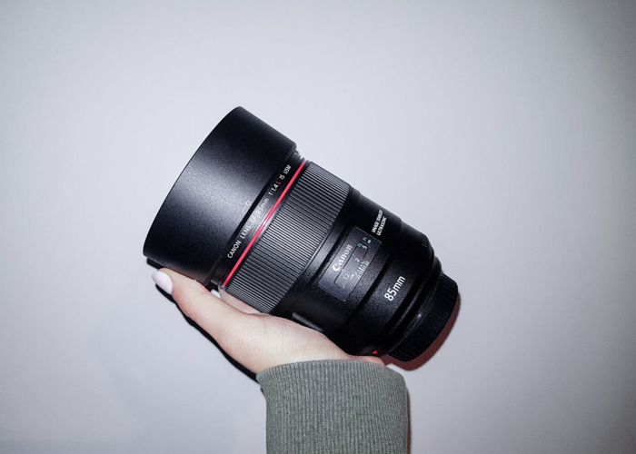 CANON EF 85 mm F/1.4L IS USM - 2