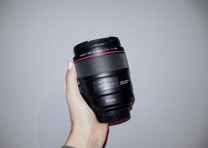 CANON EF 85 mm F/1.4L IS USM - 1