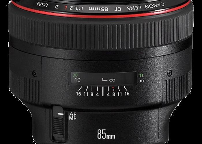 Canon EF 85mm f/1.2L II USM - 1
