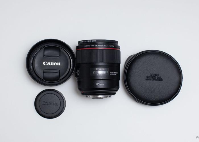 Canon EF 85mm f/1.4L IS USM Lens - 1