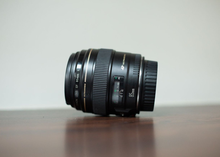 Canon EF 85mm f1.8 Lens - 2