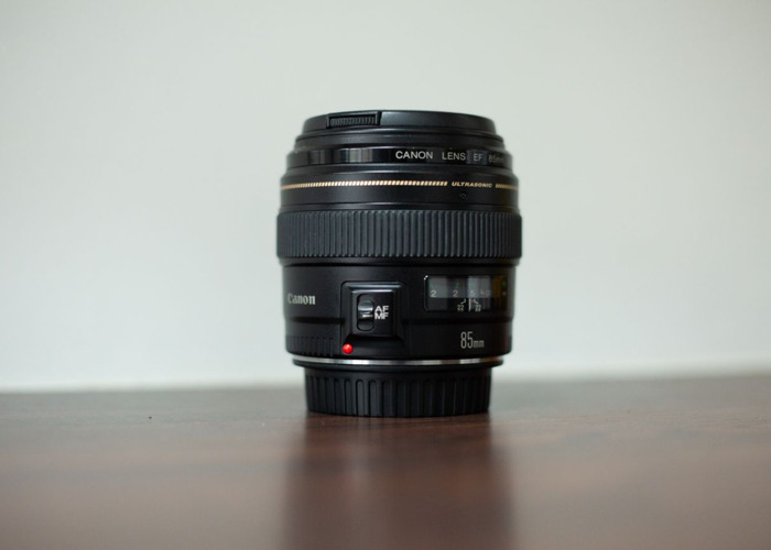 Canon EF 85mm f1.8 Lens - 1