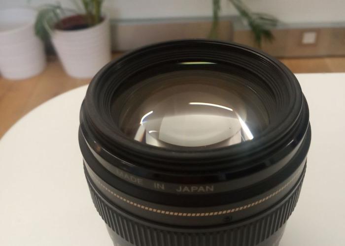 Canon EF 85mm f/1.8 USM Lens - 2