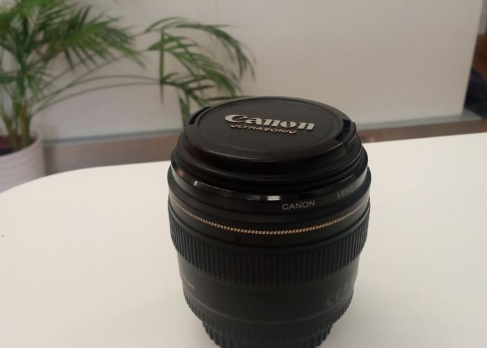 Canon EF 85mm f/1.8 USM Lens - 1
