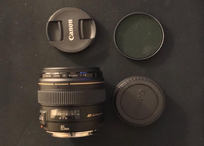 Canon EF 85mm USM Lens - 2