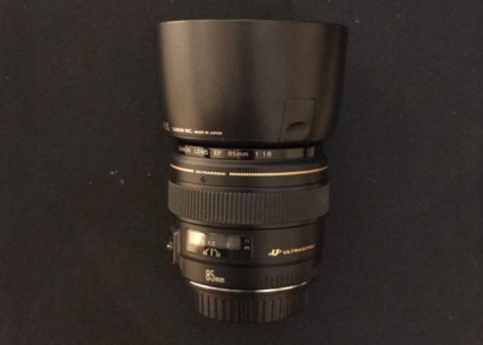 Canon EF 85mm USM Lens - 1