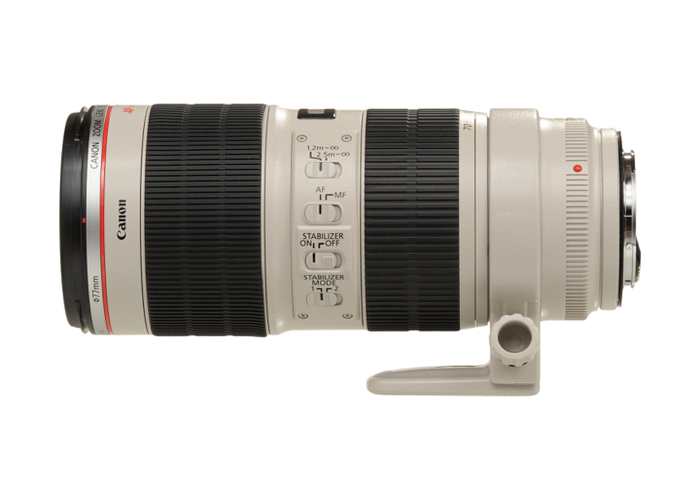 Canon EF f2.8L 70-200mm IS II USM Lens - 2