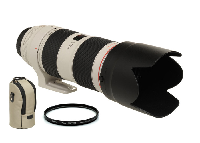 Canon EF f2.8L 70-200mm IS II USM Lens - 1