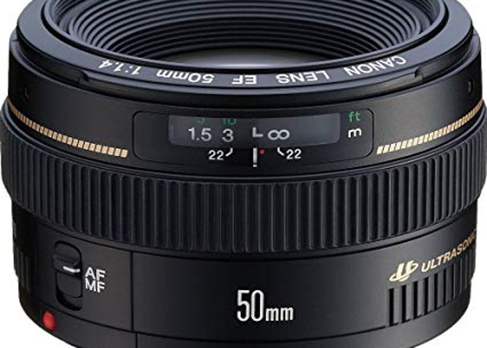 Canon EF lens 50mm f1.4 USM - 2