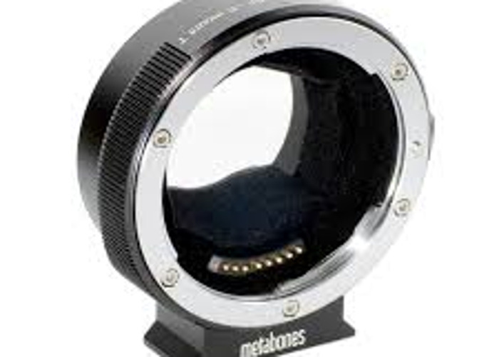 Canon EF Lens to Sony E Mount T Smart Adapter (Mark IV) - 1