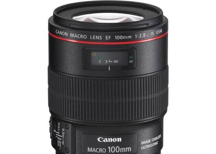 Canon EF Macro 100mm f/2.8 - 1