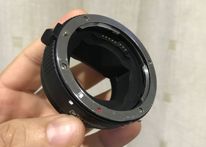 Canon EF to Sony E Mount Adapter (A7s, A7 III, A9, A7r) - 1