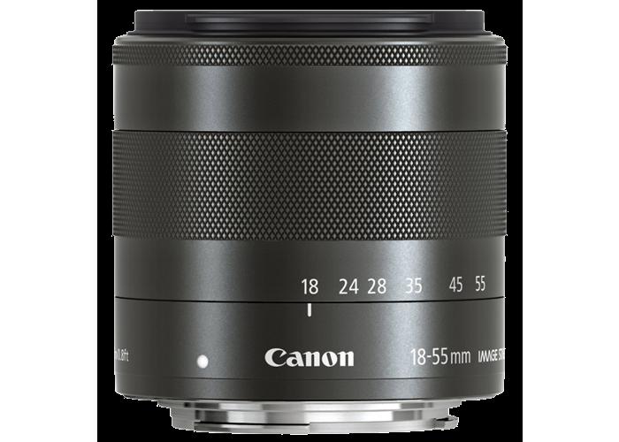 Canon EF-M 18-55mm f3.5-5.6 IS STM Lens - 1