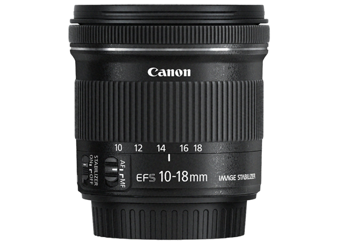 Canon EF-S 10-18mm F4.5-5.6 IS STM - 1
