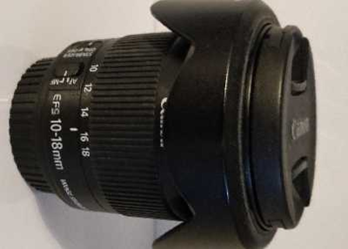 Canon EFS 10-18mm f/4.5-5.6 IS STM - 1