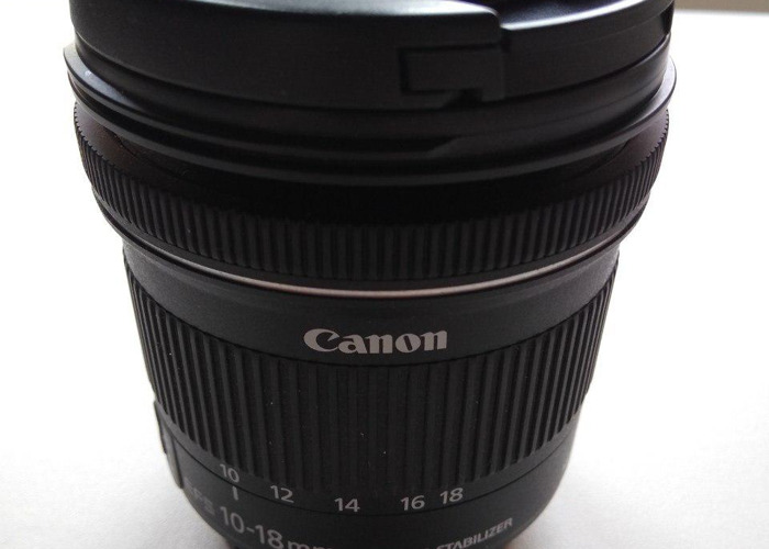 Canon EF-S 10-18mm f/4.5-5.6 IS STM - 1