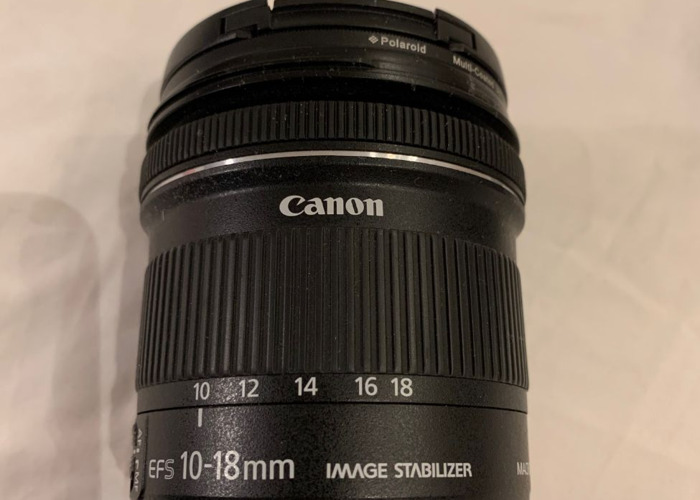 Canon EF-S 10-18mm F/4.5-5.6 IS STM DSLR Lens & Lens Hood - 2