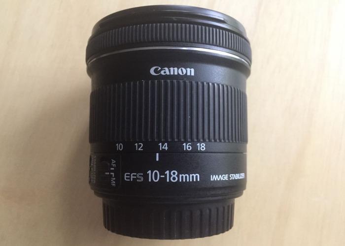 Canon EF-S 10-18mm f/4.5-5.6 IS STM LENS - 1