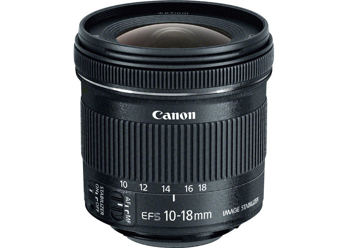 Canon EF-S 10-18mm f/4.5-5.6 IS STM Lens - 1