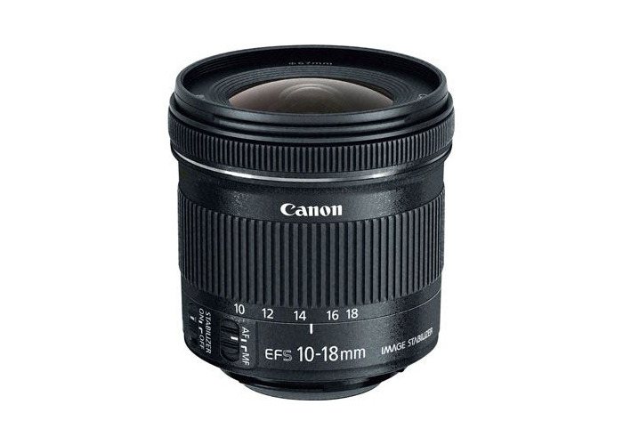 Canon EF-S 10-18mm f4.5-5.6 IS STM Lens - 1