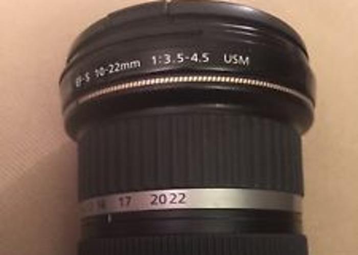 Canon EF-S 10-22 mm f/3.5-4.5 USM Lens - 1