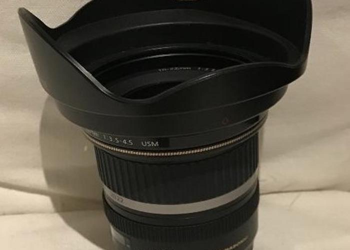 Canon EF-S 10-22 mm f/3.5-4.5 USM Lens, Black - 2