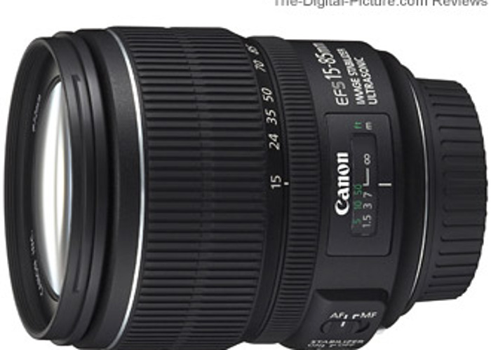 Canon EF-S 15-85mm f/3.5-5.6 IS USM - 1