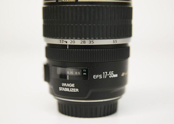Canon EF-S 17-55mm f/2.8 IS Lens - 1