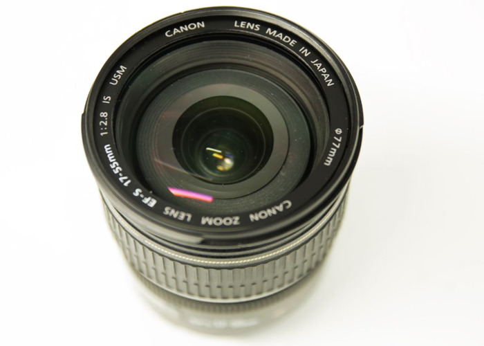 Canon EF-S 17-55mm f/2.8 IS Lens - 2