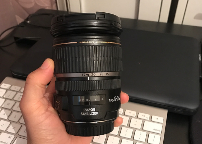 Canon EF-S 17-55mm f2.8 IS USM Lens - 1