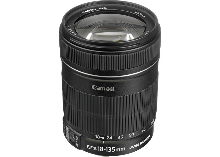 Canon EF-S 18-135mm f/3.5-5.6 IS Lens - 1