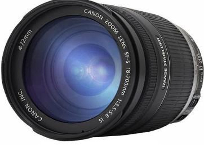 Canon EF-S 18-200mm f3.5-5.6 IS Lens  - 2