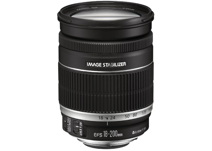 Canon EF-S 18-200mm f3.5-5.6 IS Lens - 1