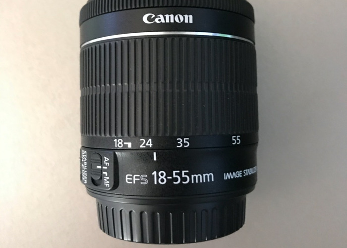 Canon EFS 18-55mm Camera Lens - 2