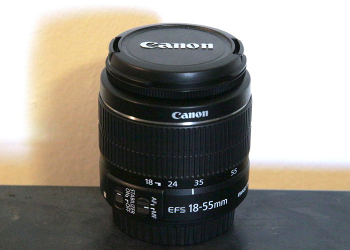 Canon EF-S 18-55mm f/3.5-5.6 IS Lens - 1