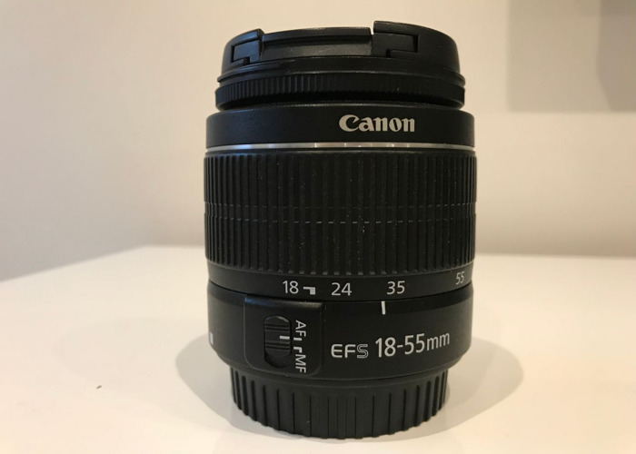 Canon EF-S 18-55mm f/3.5-5.6 lens - 1